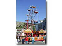 See the fair from the air on this classic fairground attraction for all the family.