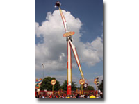 "Feel the G-forces on this awesome ? propeller"" ride that whisks riders over 130ft ( 40–metres)  through the air."