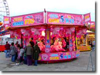 A selection of side stalls and round stalls with classic fairground games including hook–a–duck, hoopla, darts, pick a ticket etc. From soft toys to iPods, a wide range of prizes can be provided.