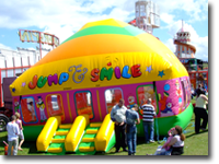 Kids can bounce and slide to their heart's content on a range of inflatable attractions – enquire for more details.