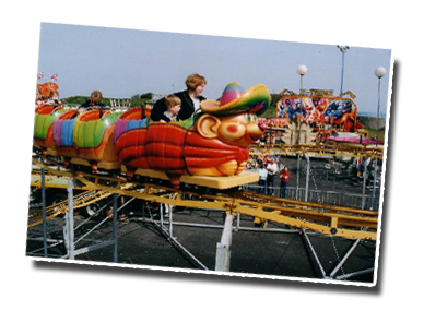 Morecambe Funland and the Apple Coaster